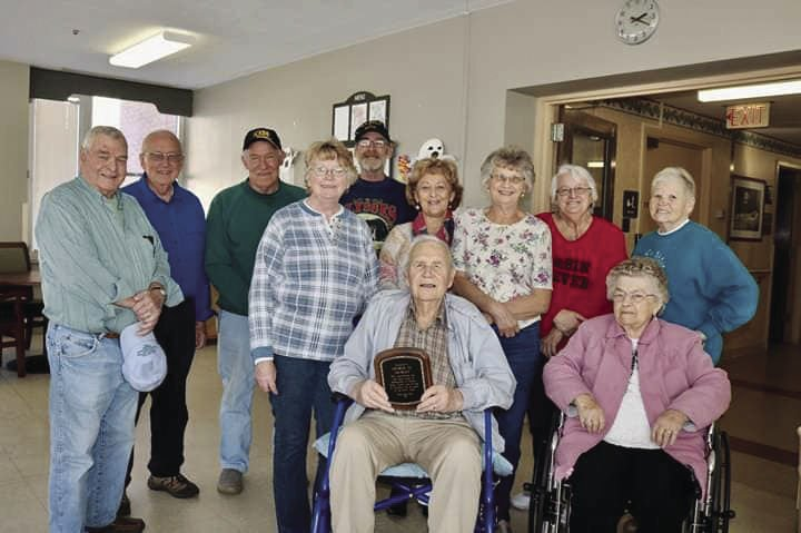 George Morley awarded Lifetime Achievement Award for years of service to senior center