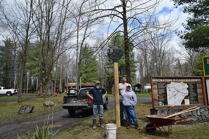 Wayfaring signs added in Lumber Heritage Region