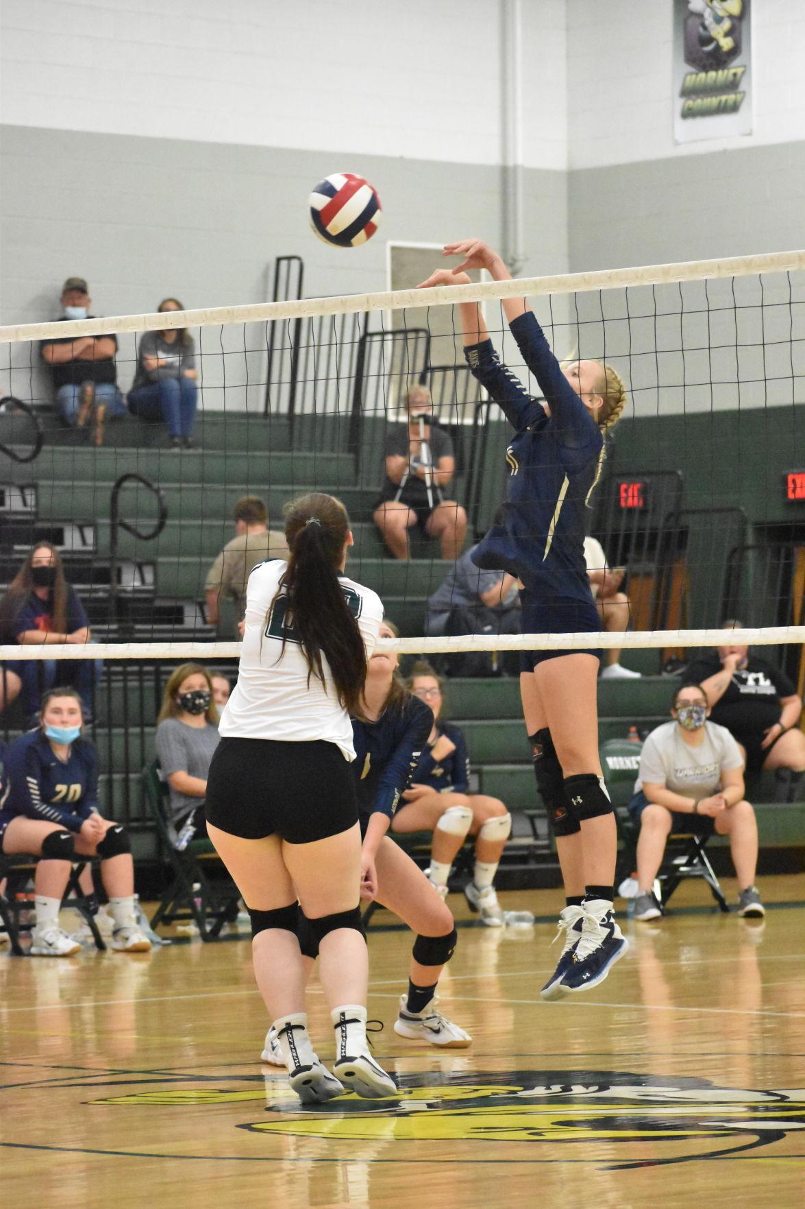 Williamson vs. Wellsboro volleyball