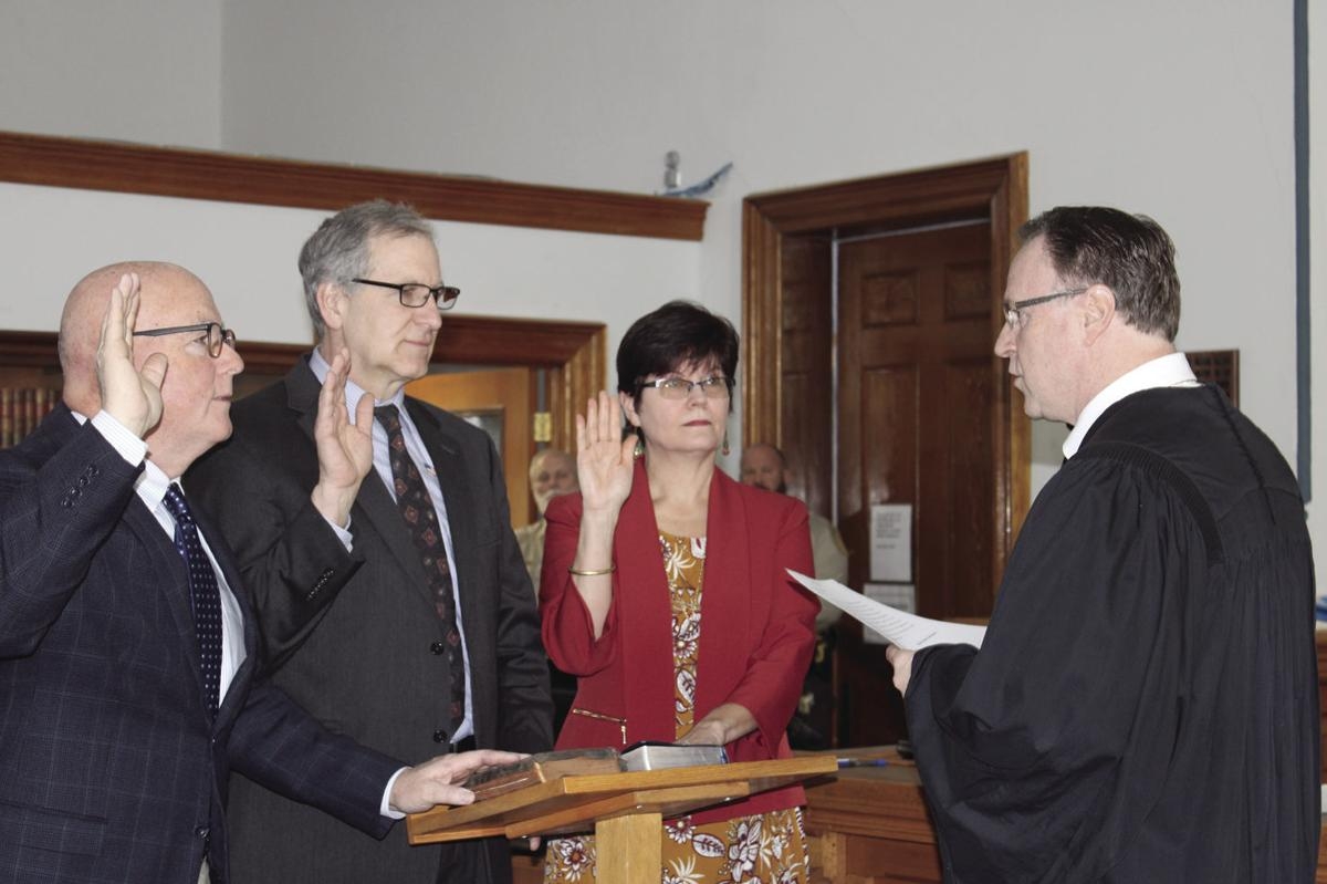 PoCo Commissioners sworn in
