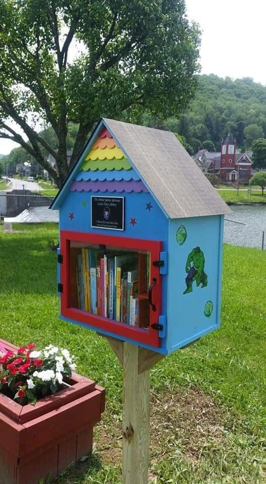 Superhero Library