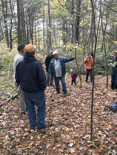 Woodlot owners take tour