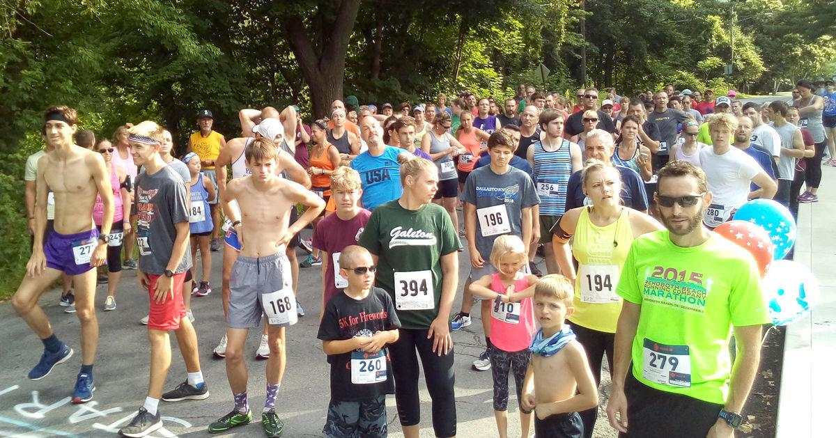 Galeton 5K for Fireworks attracts large crowd
