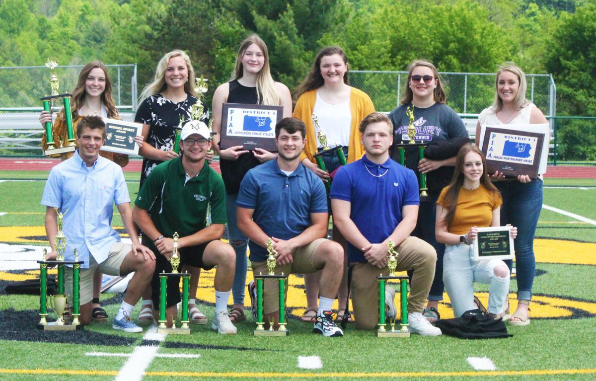 Wellsboro Athletics top award winners