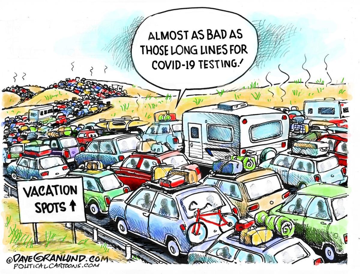Editorial Cartoon, July 9, 2020