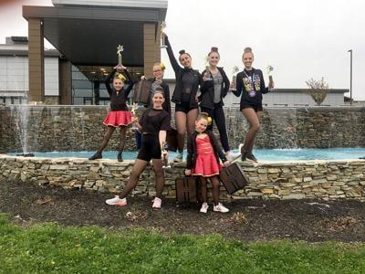 Dancers bring home gold