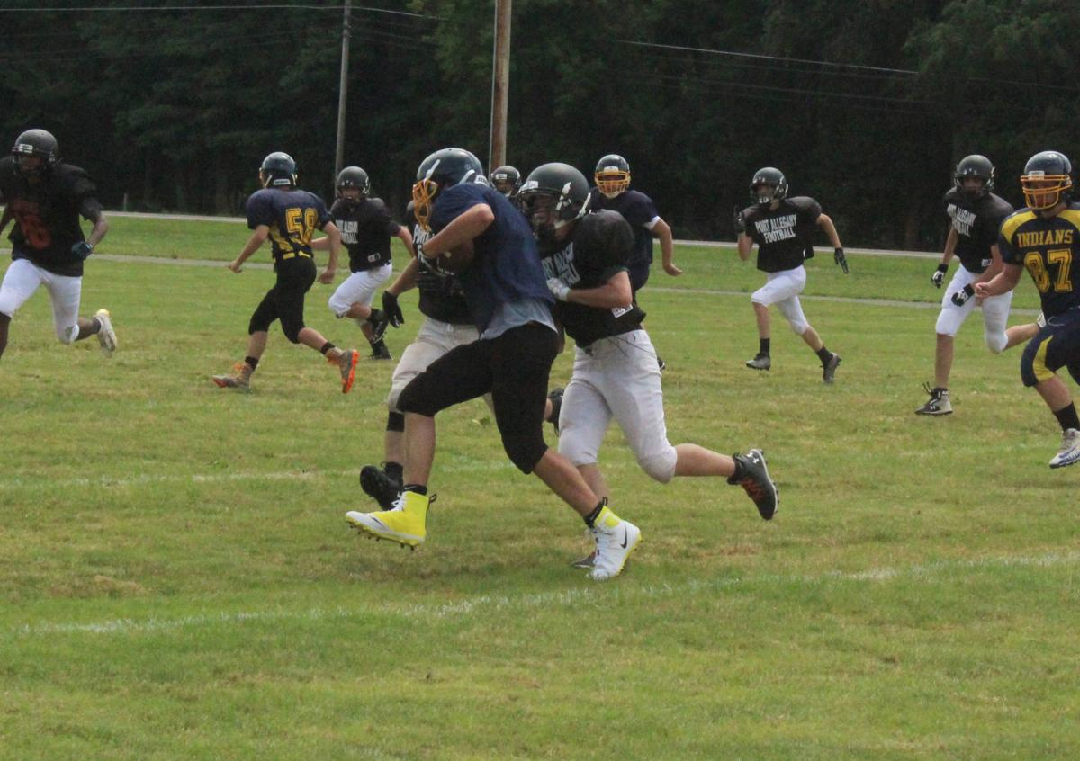 CV starts off season with scrimmage against Port Allegany