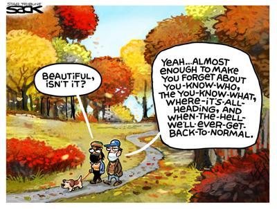 Editorial Cartoon, Oct. 7, 2021