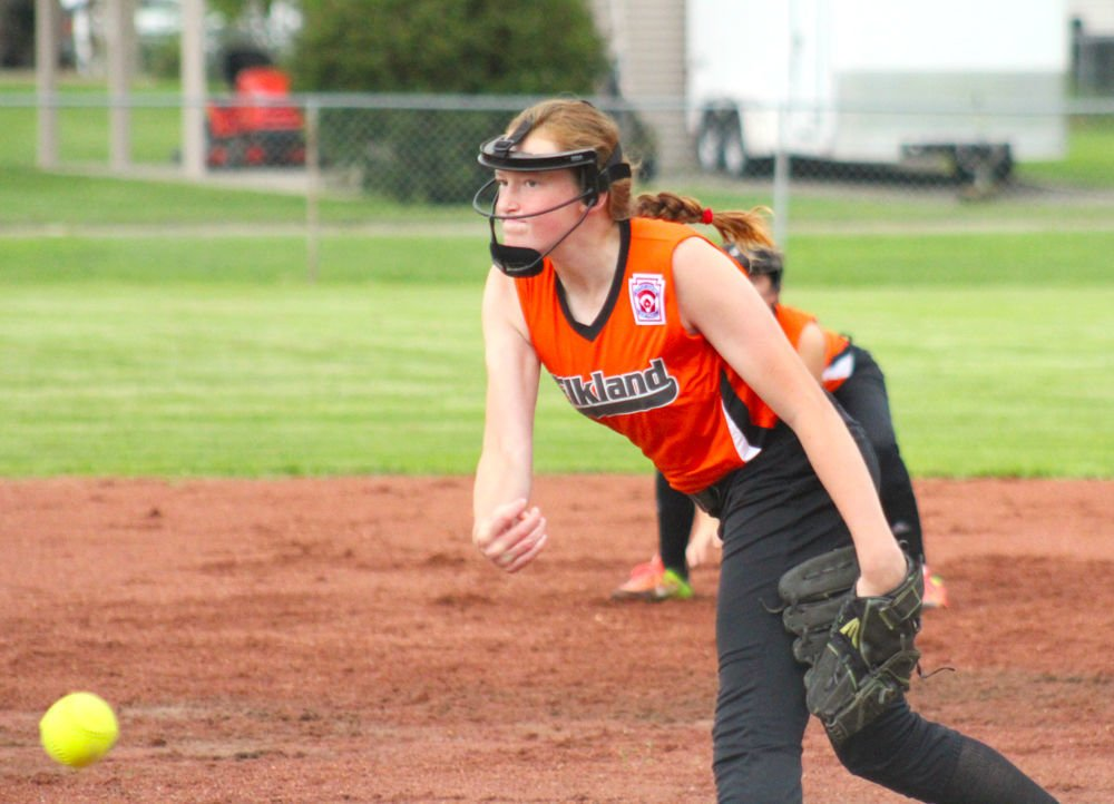 Ruby Sherman is lights out on the mound