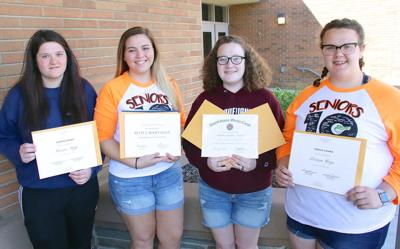 Students honored for academic achivement
