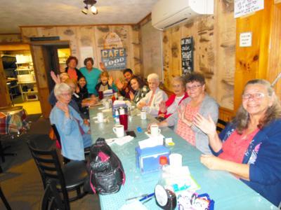 Breakfast club meets every week