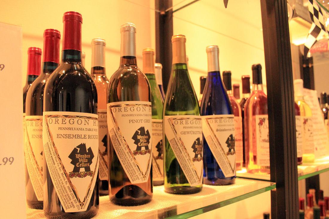 Oregon Hill opens wine shop