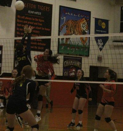 Tigers volley