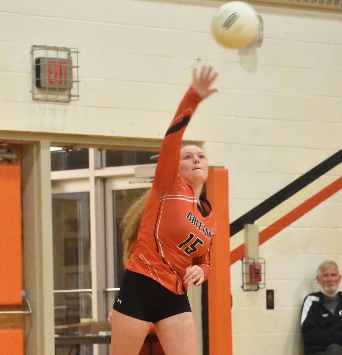 Galeton volleyball