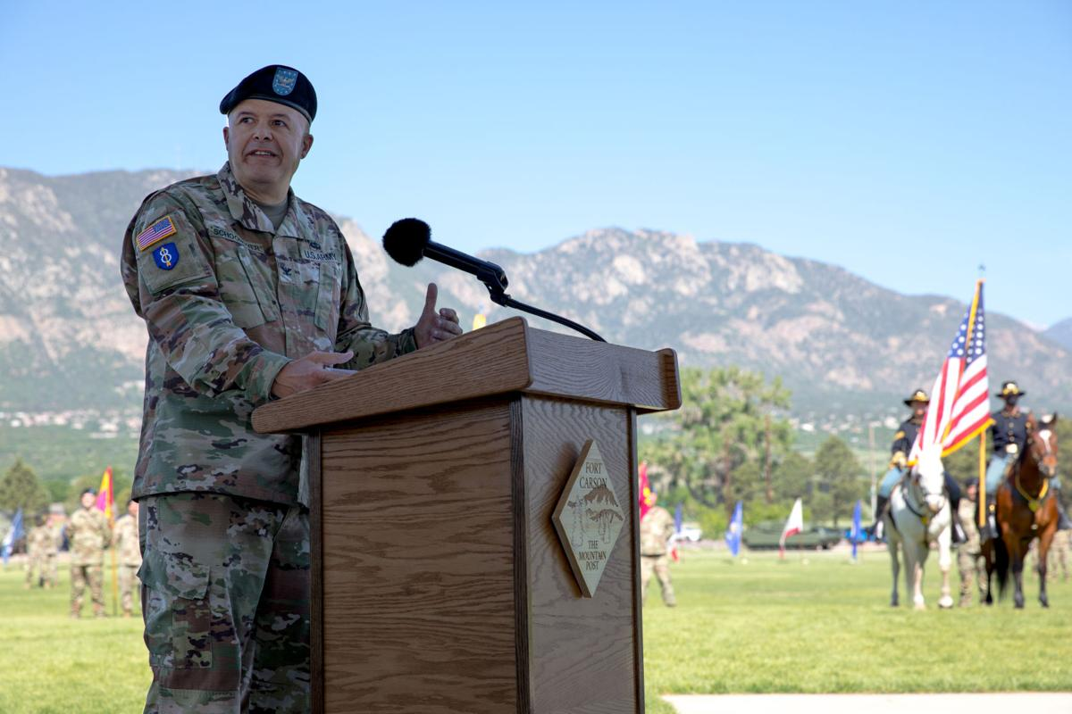 71st EOD Change of Command
