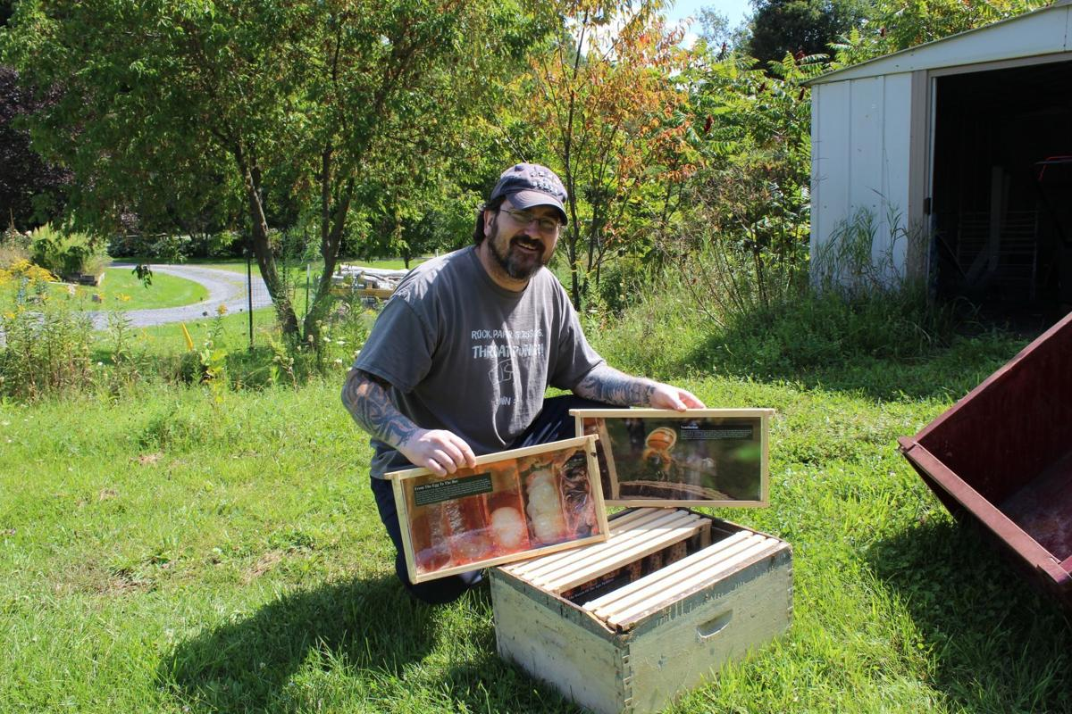 Local beekeeper educates children and adults