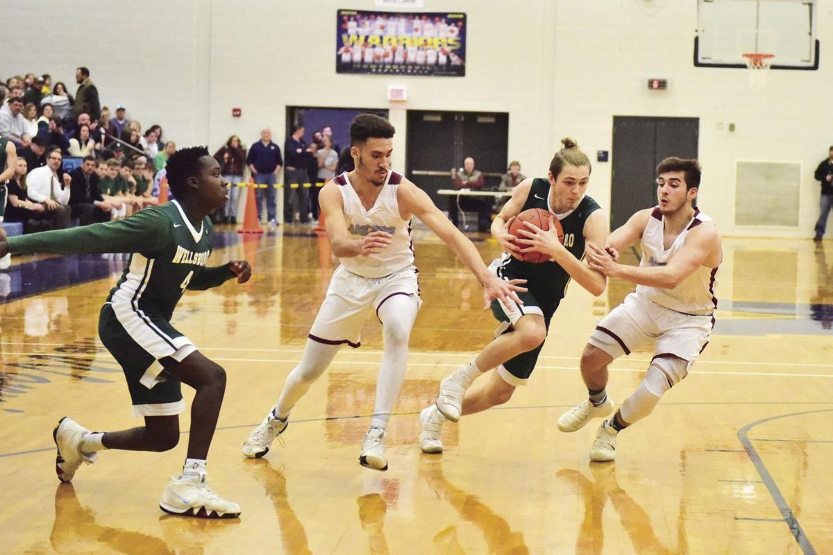 Loyalsock defense swarms the ball