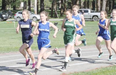 Williamson, North Penn-Mansfield and Wellsboro compete in Tri-Meet.