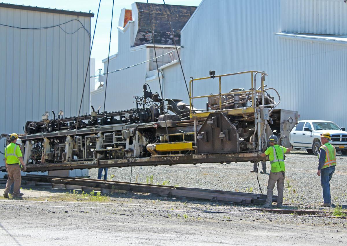 Machines unloaded at Wellsboro facility