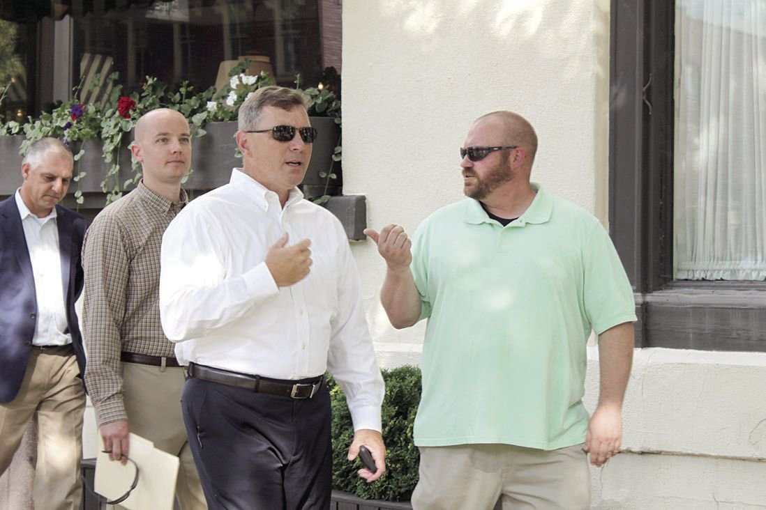 State officials tour revitalization projects