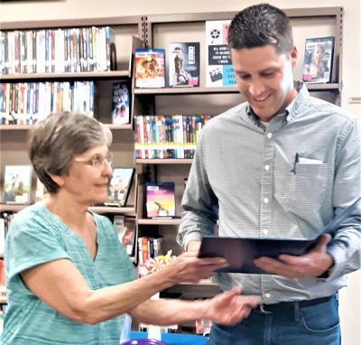 Elkland librarian retirement party