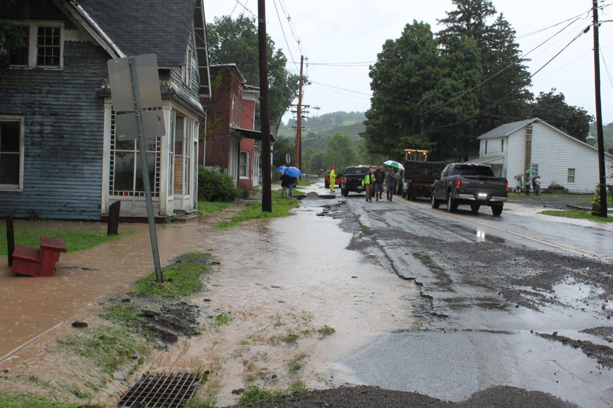 Rainy August continues causing flooding throughout Tioga County