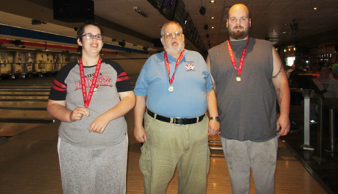 Special Olympics Competitors.