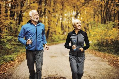 Seniors staying active