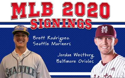 Coach Hill two former players sign to MLB