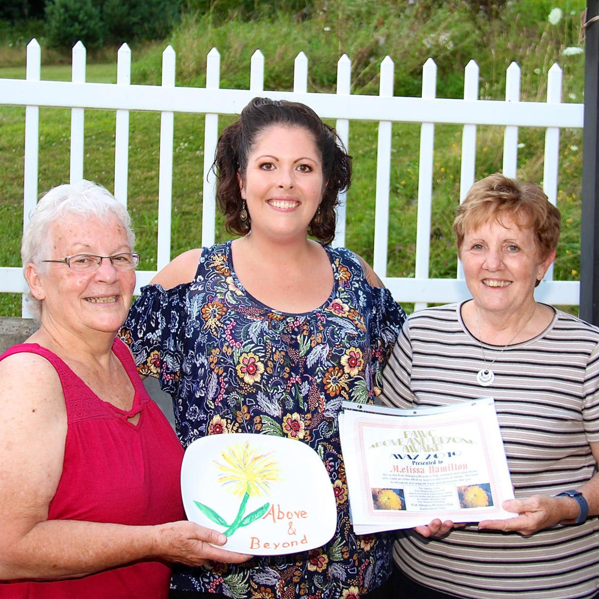 Women's Club honors booster