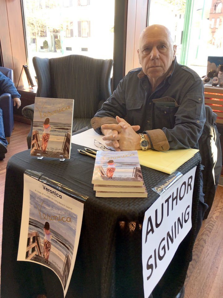 Author hosts local book signing
