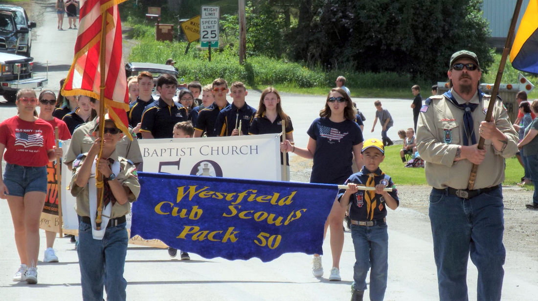 Westfield honors military