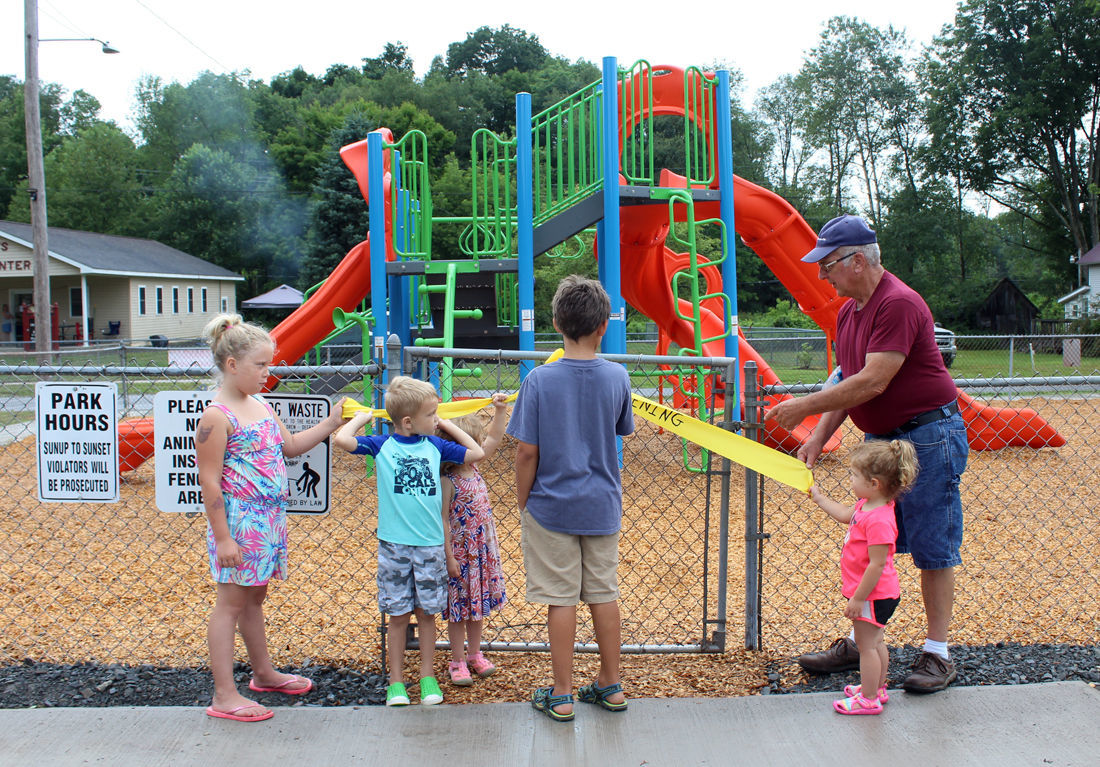 Roseville dedicates playground