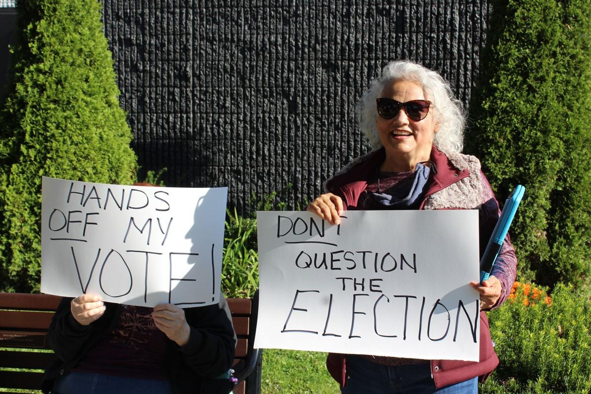 TCI protests 2020 election investigation
