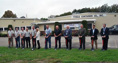 Tyoga Container ground breaking