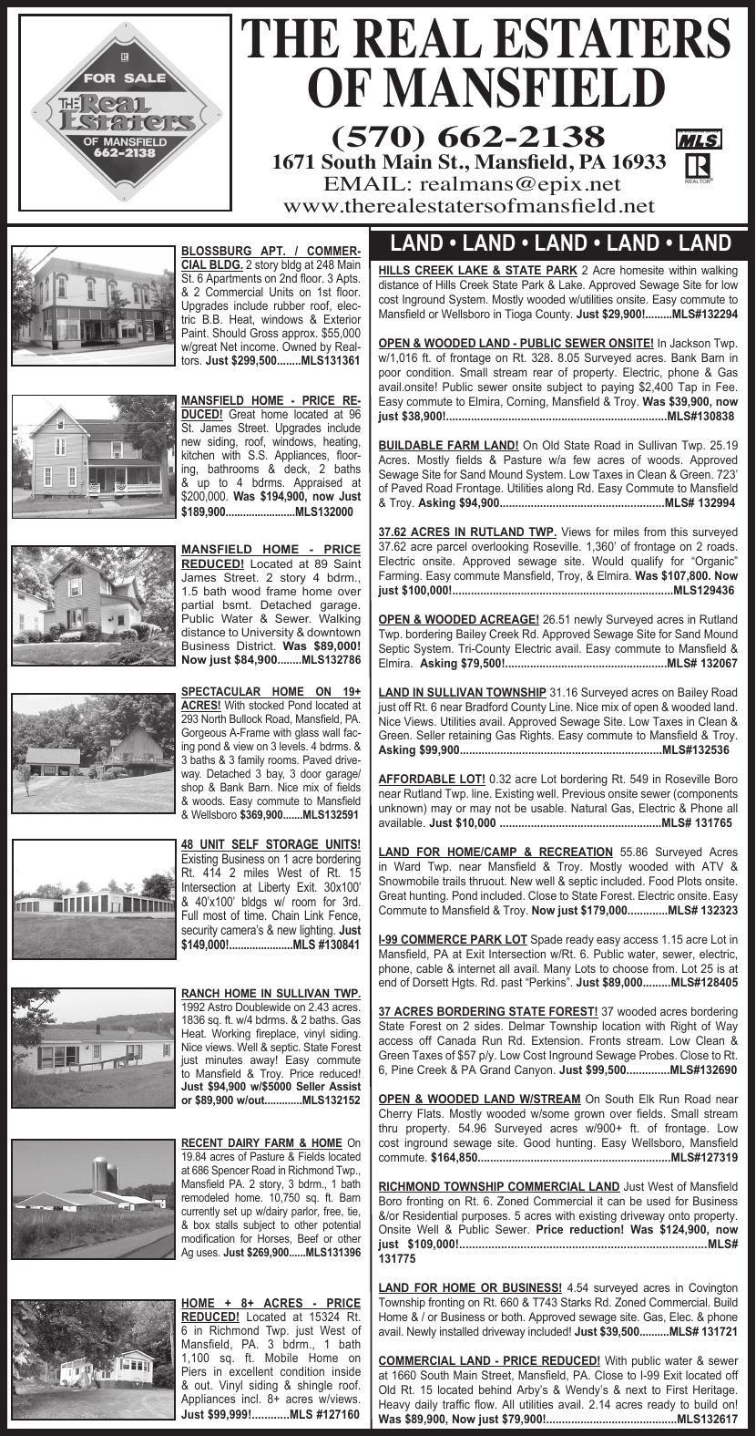 RealEstatersGazette 7-18-19 pdf | Wellsboro Gazette