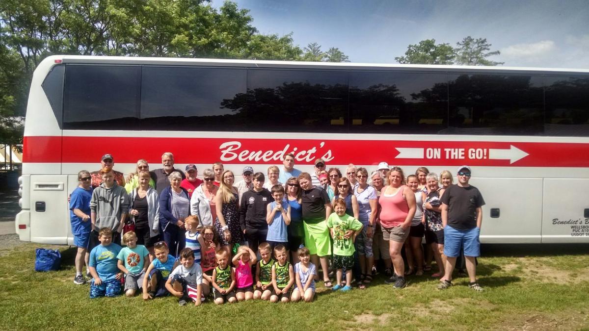 Grandsavers go on trip via Benedicts