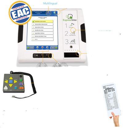 VoteExpress Tablet
