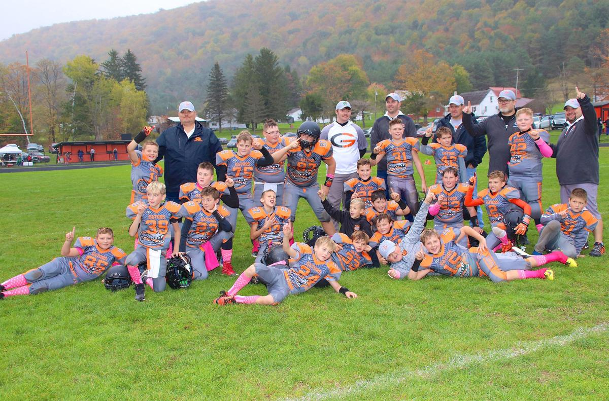 Port Allegany Youth Football Pony Division Title Winners