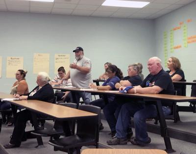 FreePA at school board meeting