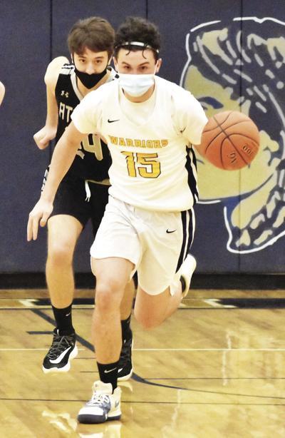 Schmitt bring ball up floor