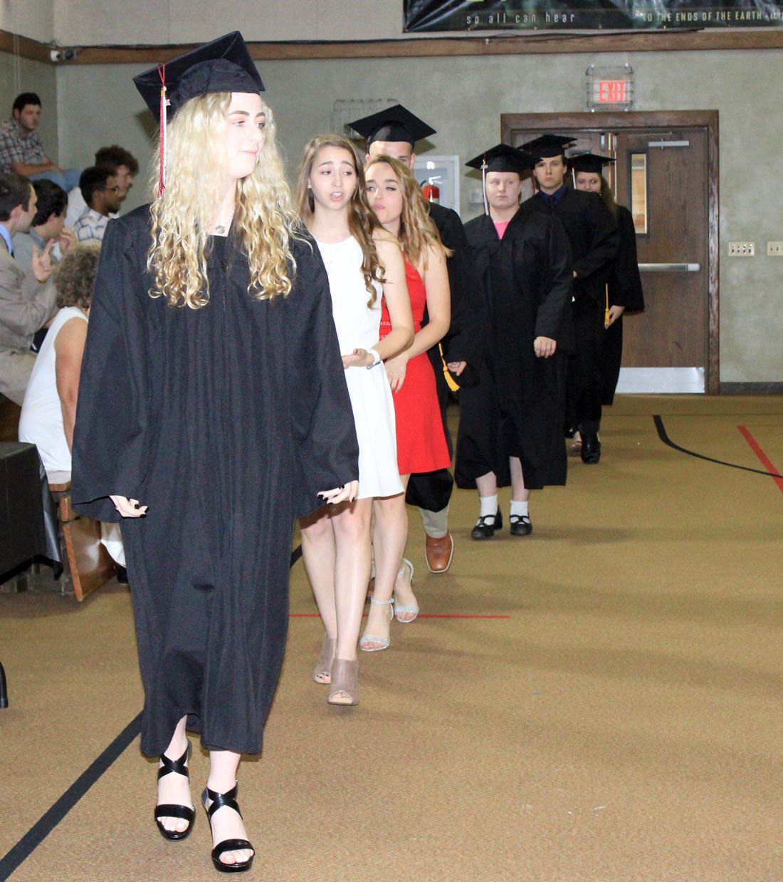Eight graduate from New Covenant