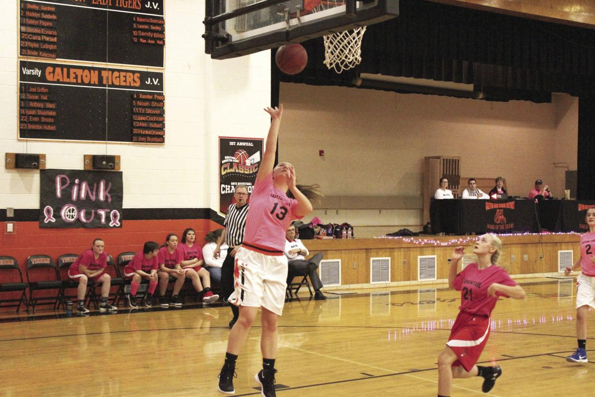 Jessie Evans leads the Lady Tigers offense