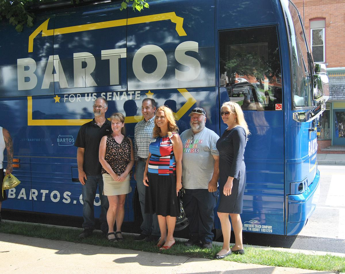 Jeff Bartos visit