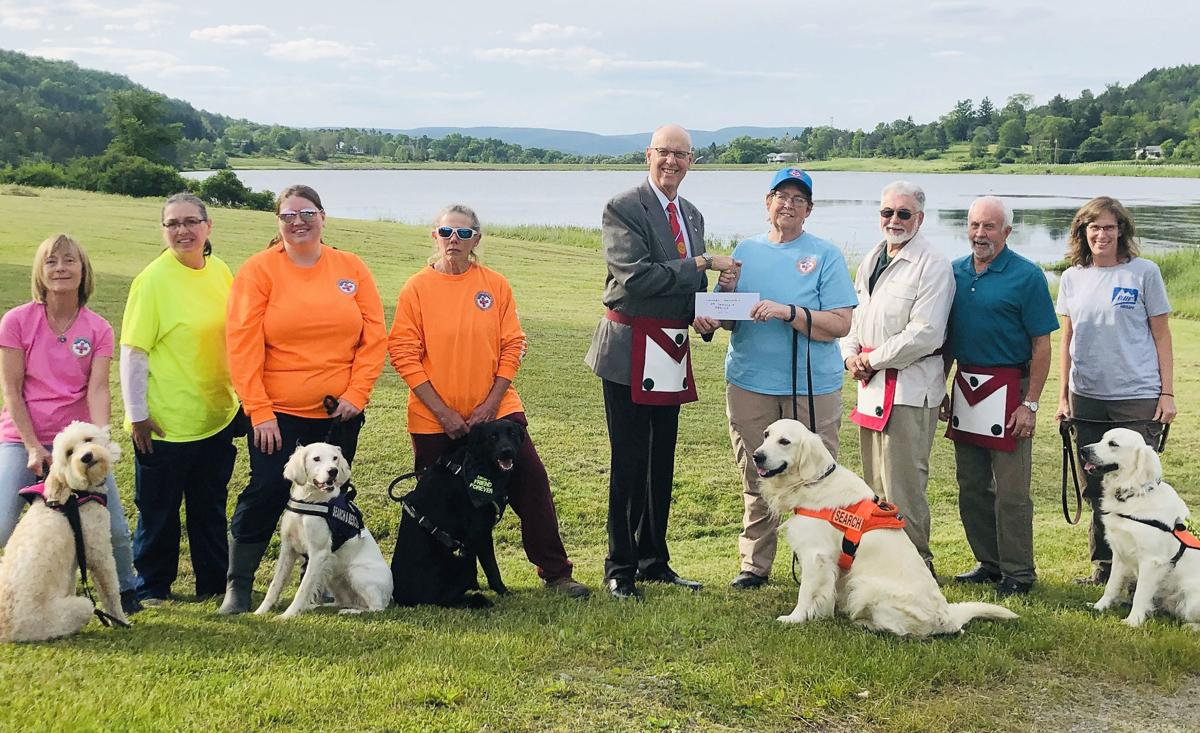 Laurel Mountain Search and Rescue receives donation