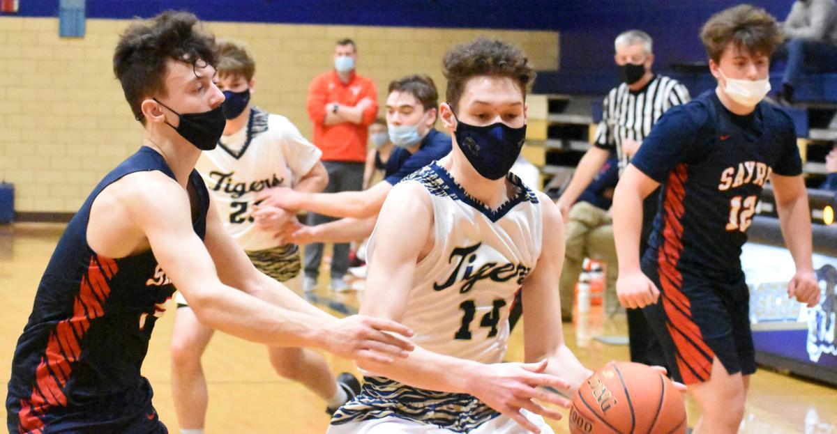 Dominick controls basketball