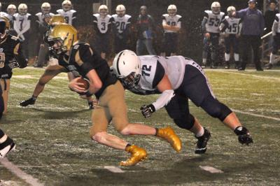 Brandon Goss tackle