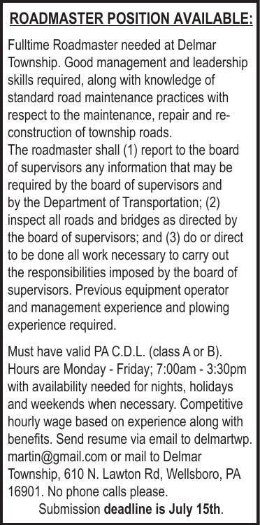 Delmar Roadmaster 2x5 CLASS 7.2.20.pdf