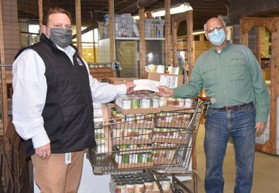 Wellsboro school gives to food pantry
