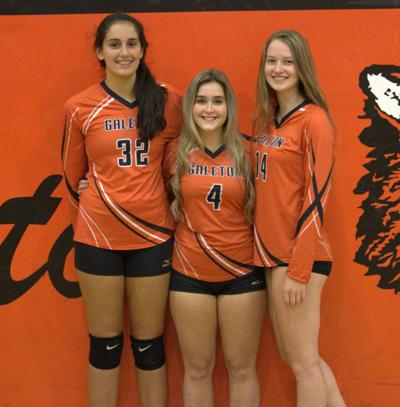 Galeton volley honored